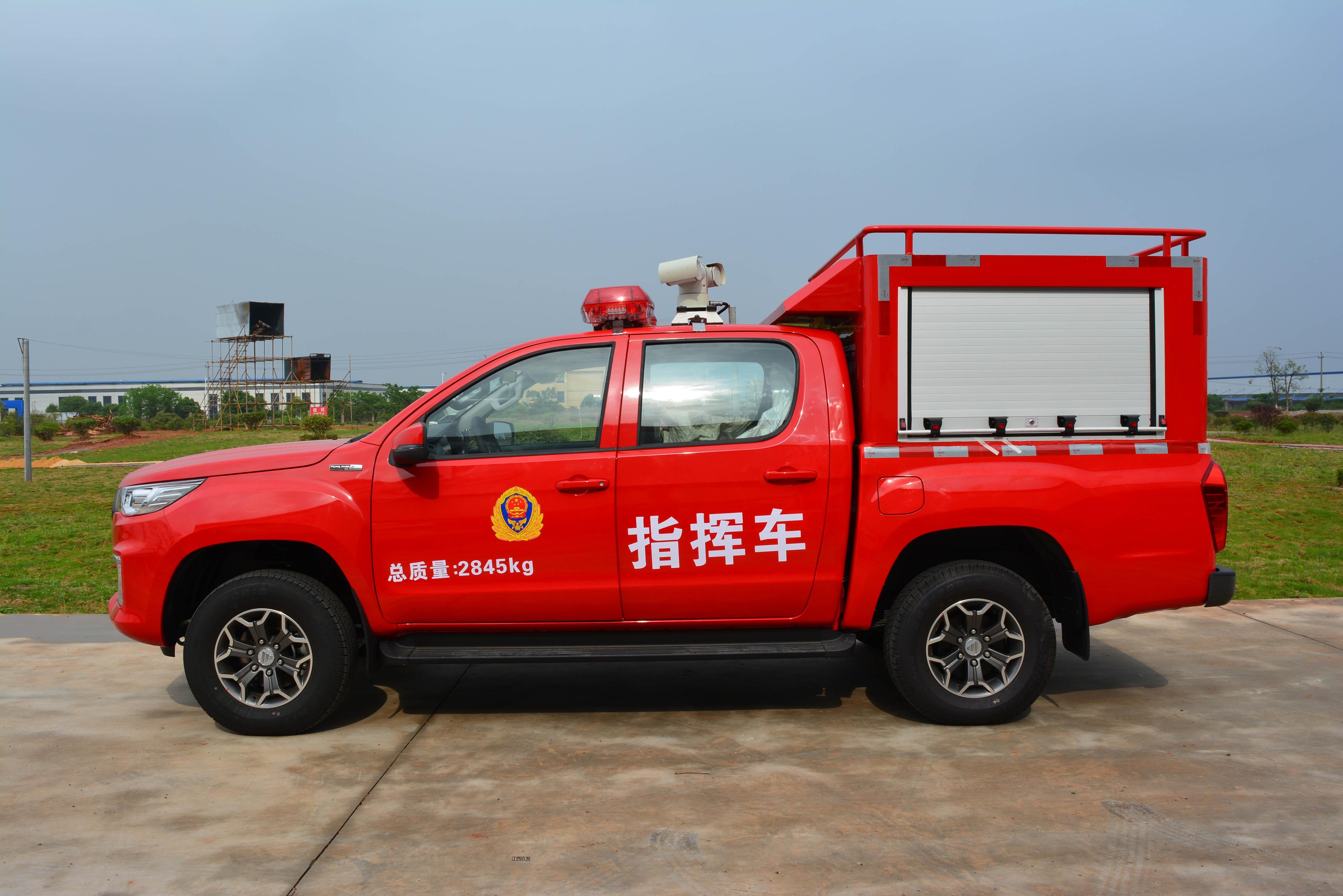 国六应急皮卡指挥车(福田)